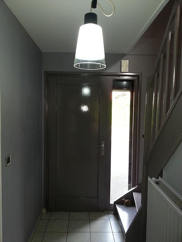 Entr e et cage d 39 escalier lv d co - Decoration de cage d escalier ...