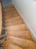 escalier vitrifié-après