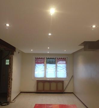 pose faux plafond et chemin lumineux lv d co. Black Bedroom Furniture Sets. Home Design Ideas