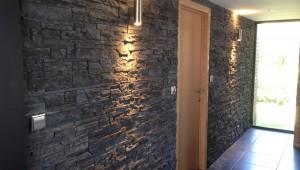 Mur en parement